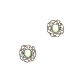 Celtic Birthstone Earrings August - Peridot 2019